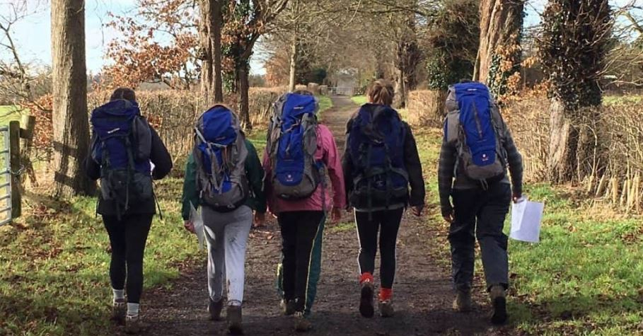 Bronze Duke of Edinburgh Girls on an Expedition